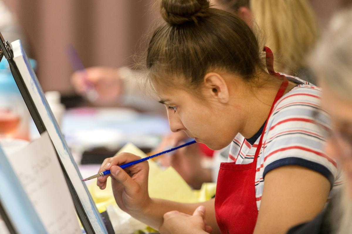 Paint nights provide creative outlet