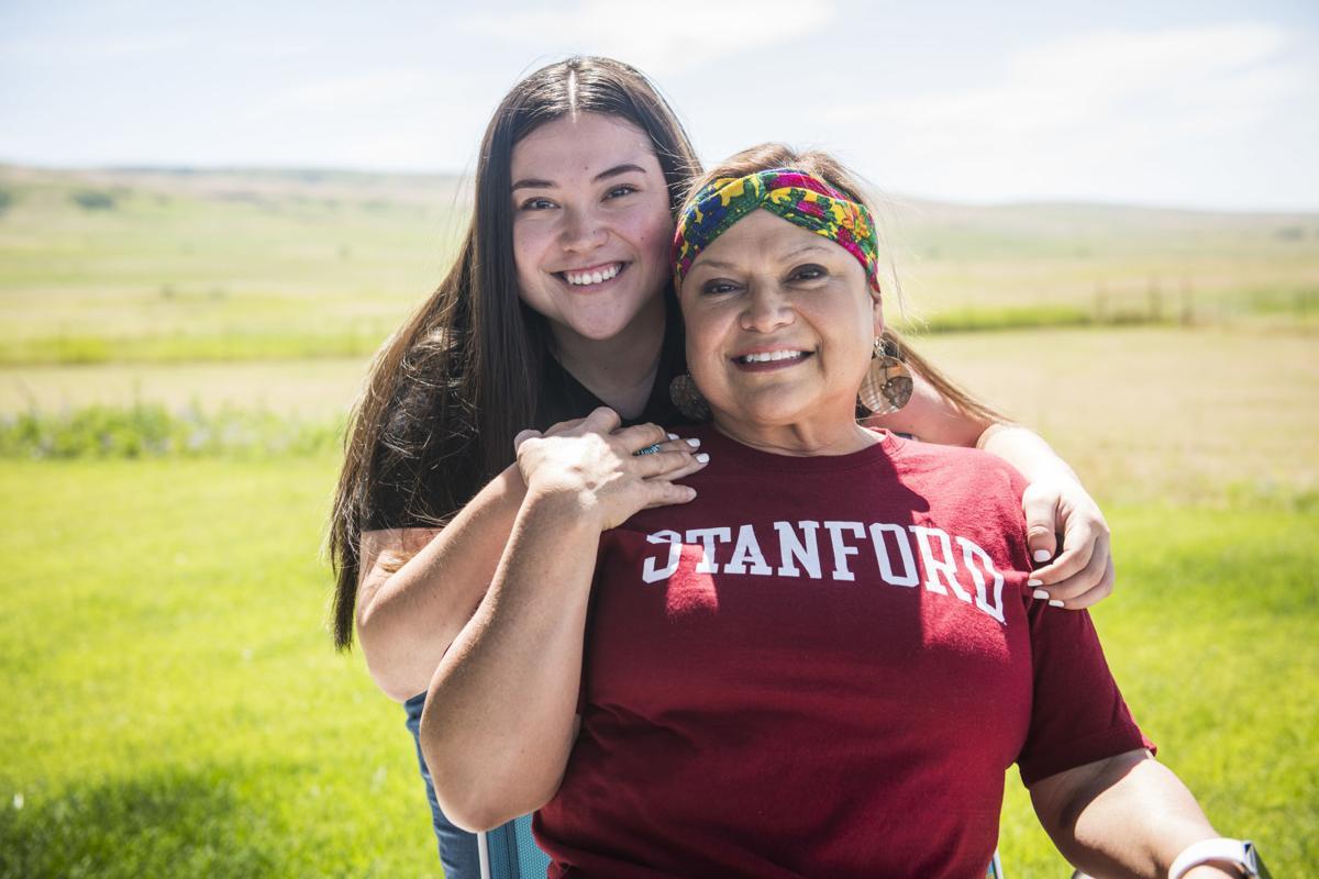 Alyssa Farrow and Alanna Nanegos