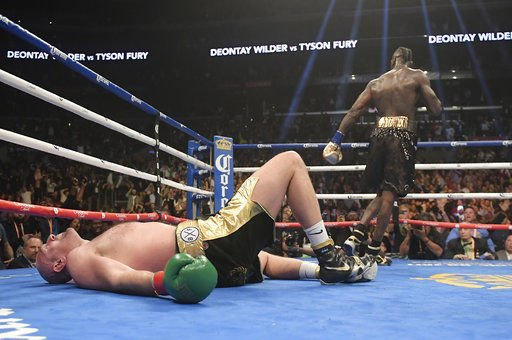 Wilder hoping for a rematch with Fury 'ASAP'