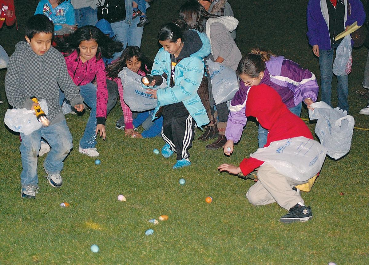 Easter bunny and egg hunts offer holiday fun