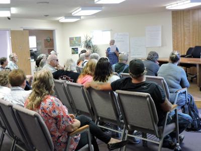 Lexington town hall meeting