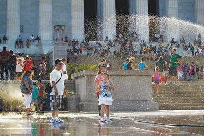 Morrow County undersheriff lends a hand for D.C. Fourth of July