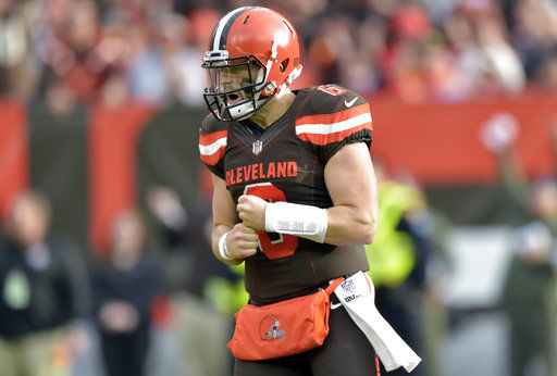 Baker's boys: Mayfield has Browns believing dark days over