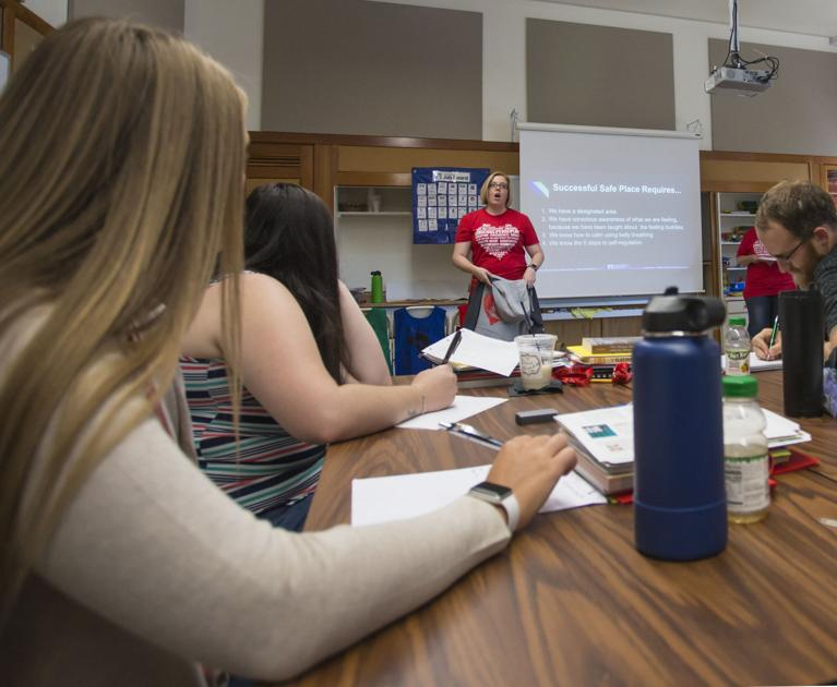 New PSD teachers train for upcoming year