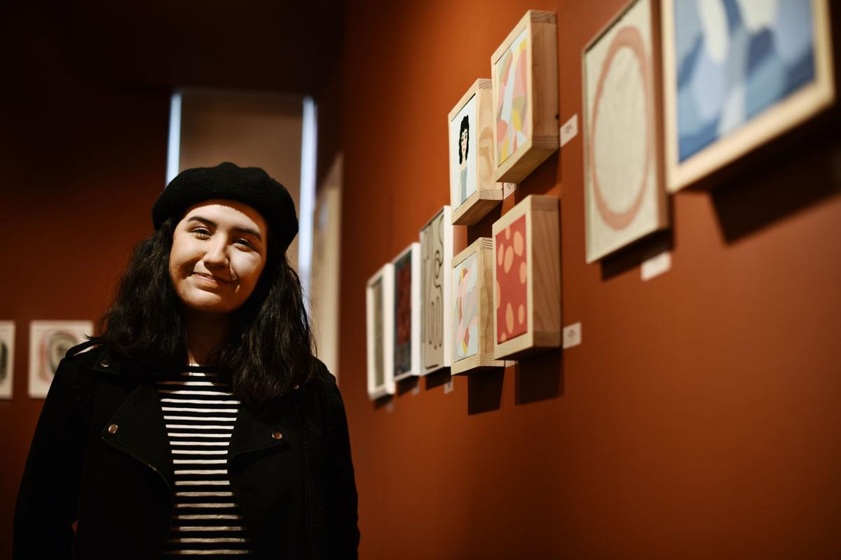 Teen artist gets boost from major art collector