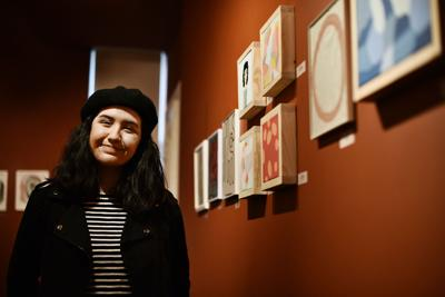 Teen artist gets boost from major art collector