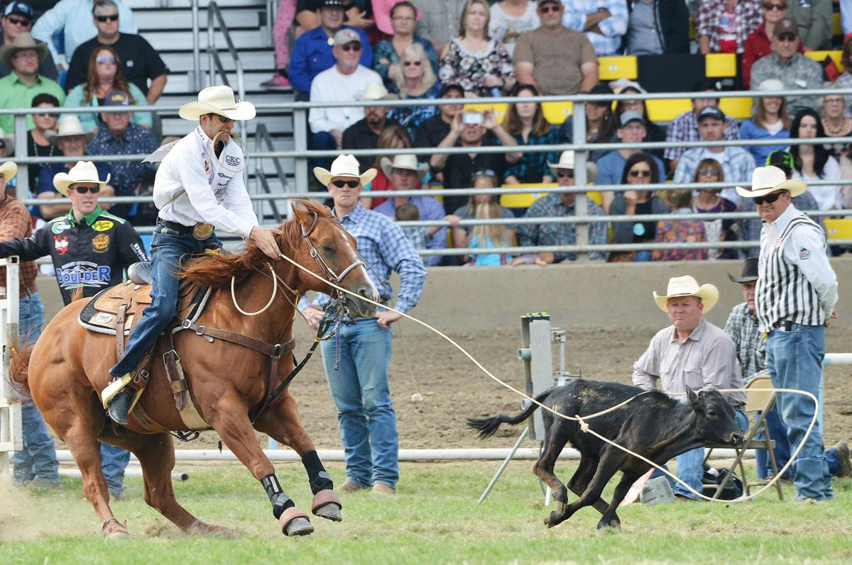 CALF ROPING: An emotional Hanchey makes trip to Northwest worth it