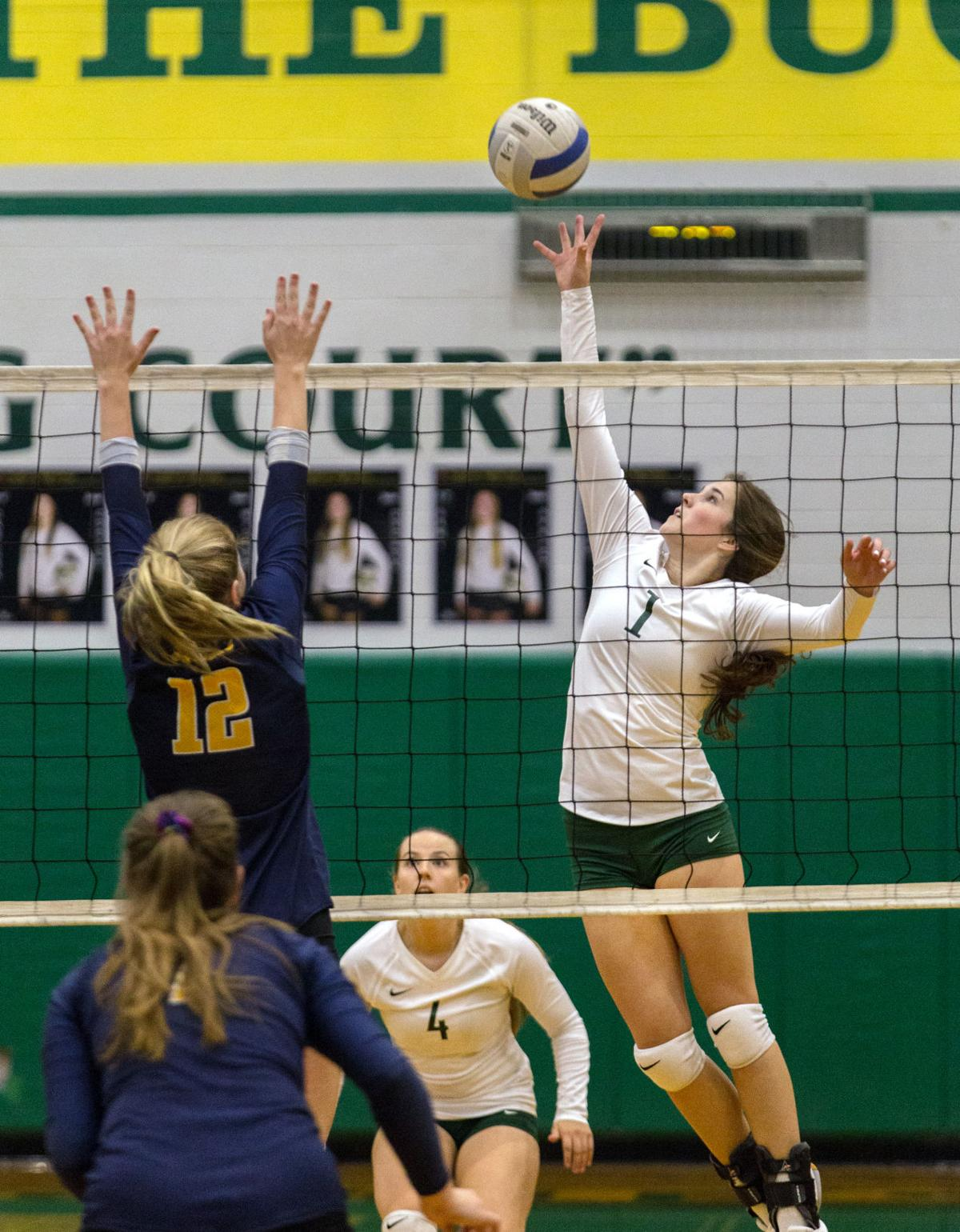 Volleyball   Crook County at Pendleton