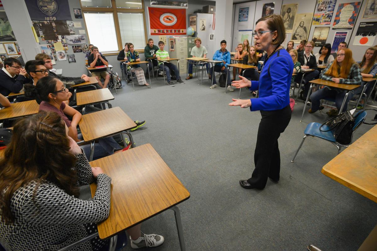 Pendleton High School Brown Visit
