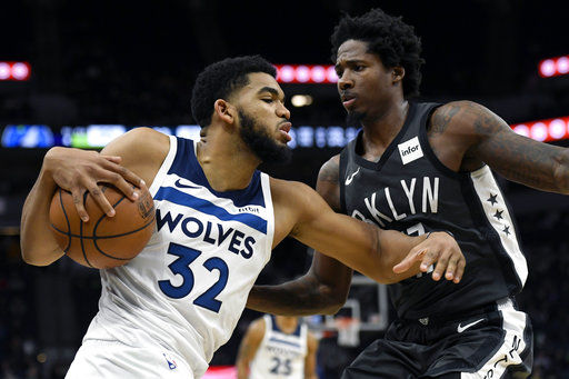 Timberwolves beat Nets after LeVert's gruesome injury