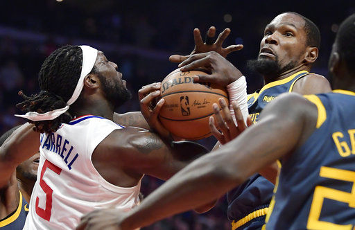 Clippers snap home skid against Warriors with 121-116 OT win