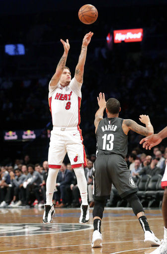 Heat beat Nets 120-107 to end three-game losing streak
