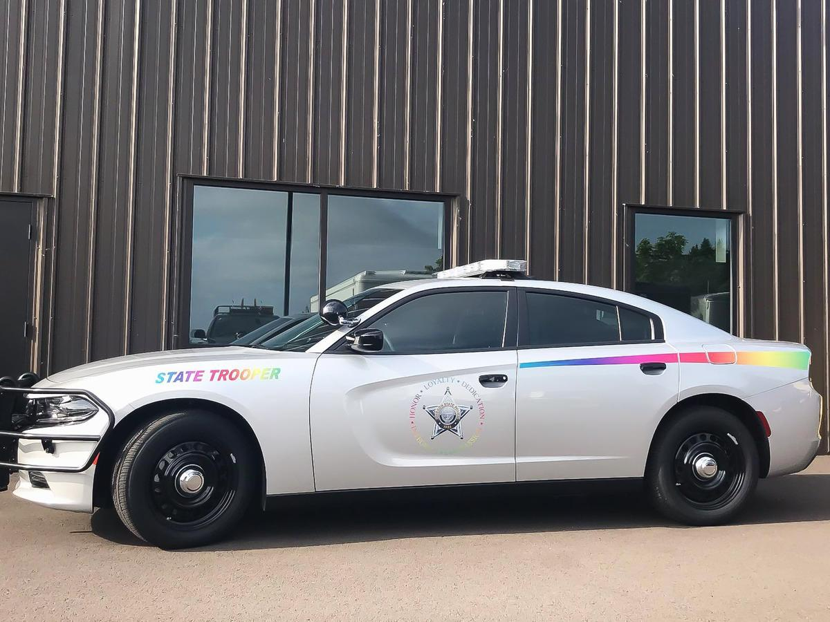 Oregon State Police roll with Pride | Local News