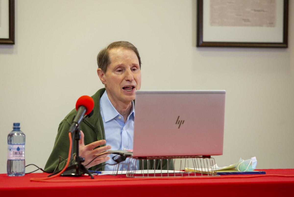 Wyden virtual town hall
