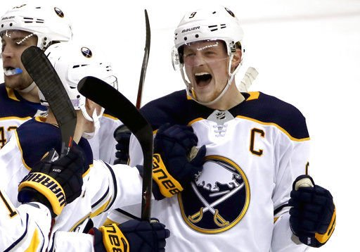 Worst in NHL last season, Sabres are surging after 9-0 run