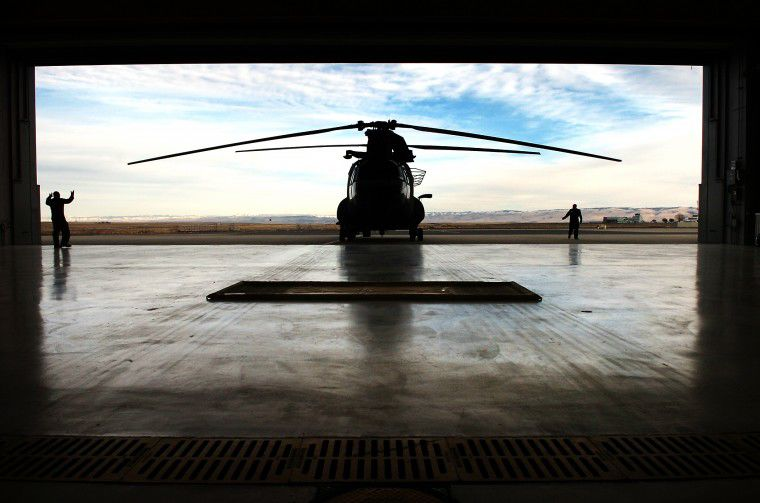 Year in pictures: CH-47 Chinook
