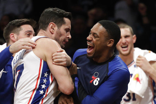 Butler hits another winning 3 as Sixers rally past Nets