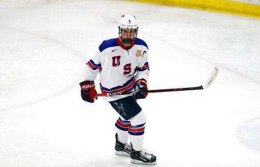 USA Hockey's Jack Hughes expected No. 1 pick in NHL draft