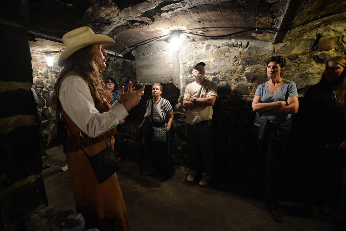 Actors bring Pendleton's underground to life