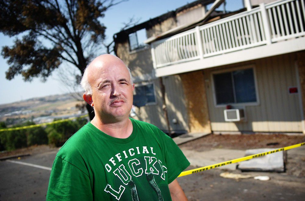Dealing with devastation: Fire victims take first steps toward new normal