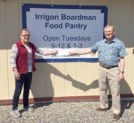 Boardman Irrigon donation