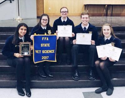 HERMISTON Vet science team wins state competition