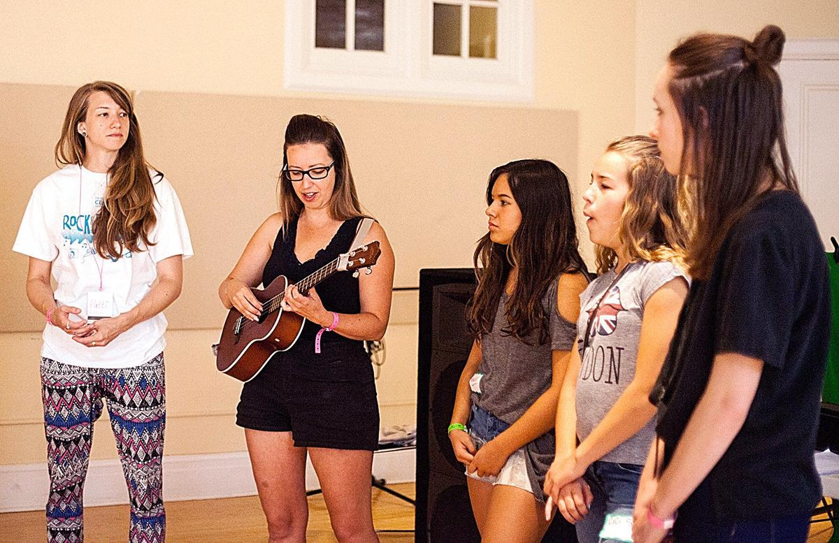 PENDLETON Teen music camp gets ready to rock