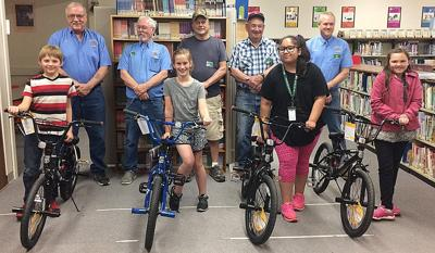 Students pedal into reading