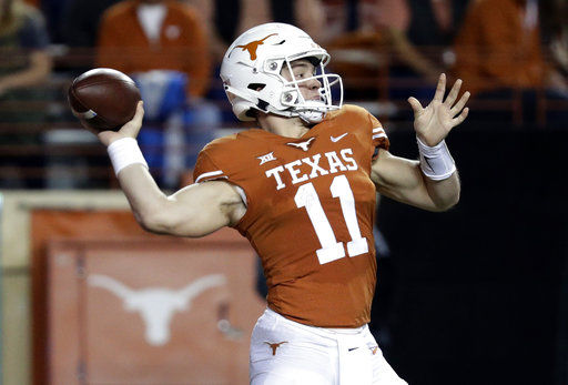 Texas aims for Big 12 title game in return to Kansas