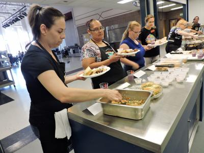 Nutrition specialists mixing it up with school lunches