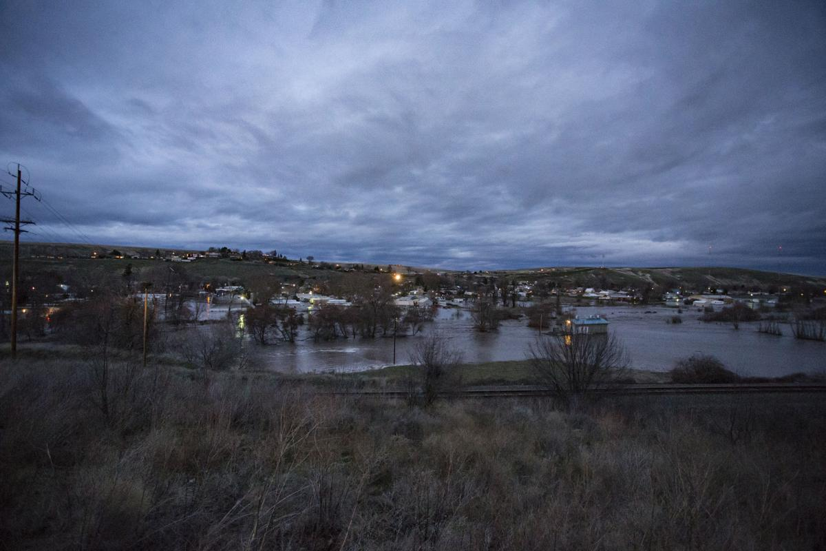 Flood Water overhead