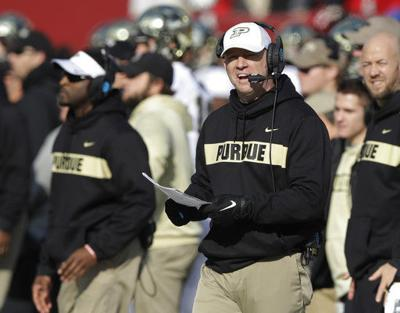 Brohm turns down Louisville job, will stay at Purdue