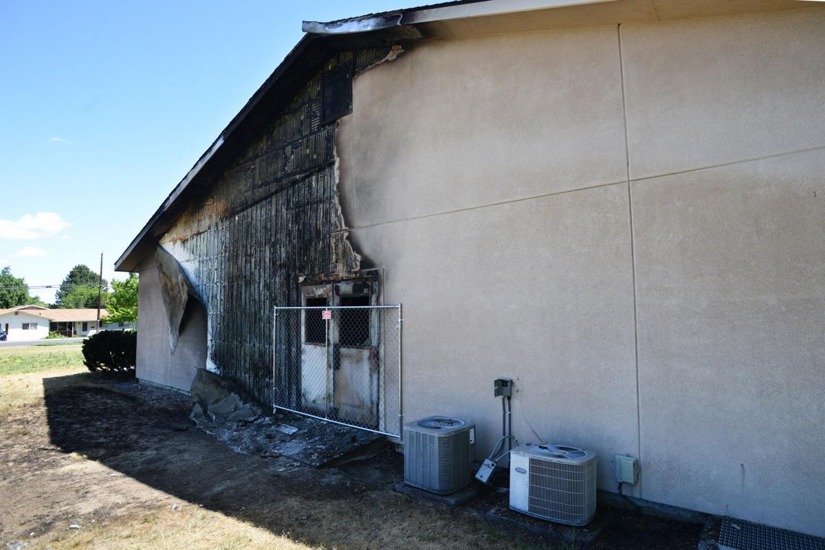 HERMISTON Lamp blamed for church fire