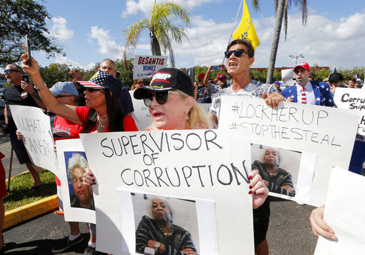 The Latest: Palm Beach, Broward judges side with Scott