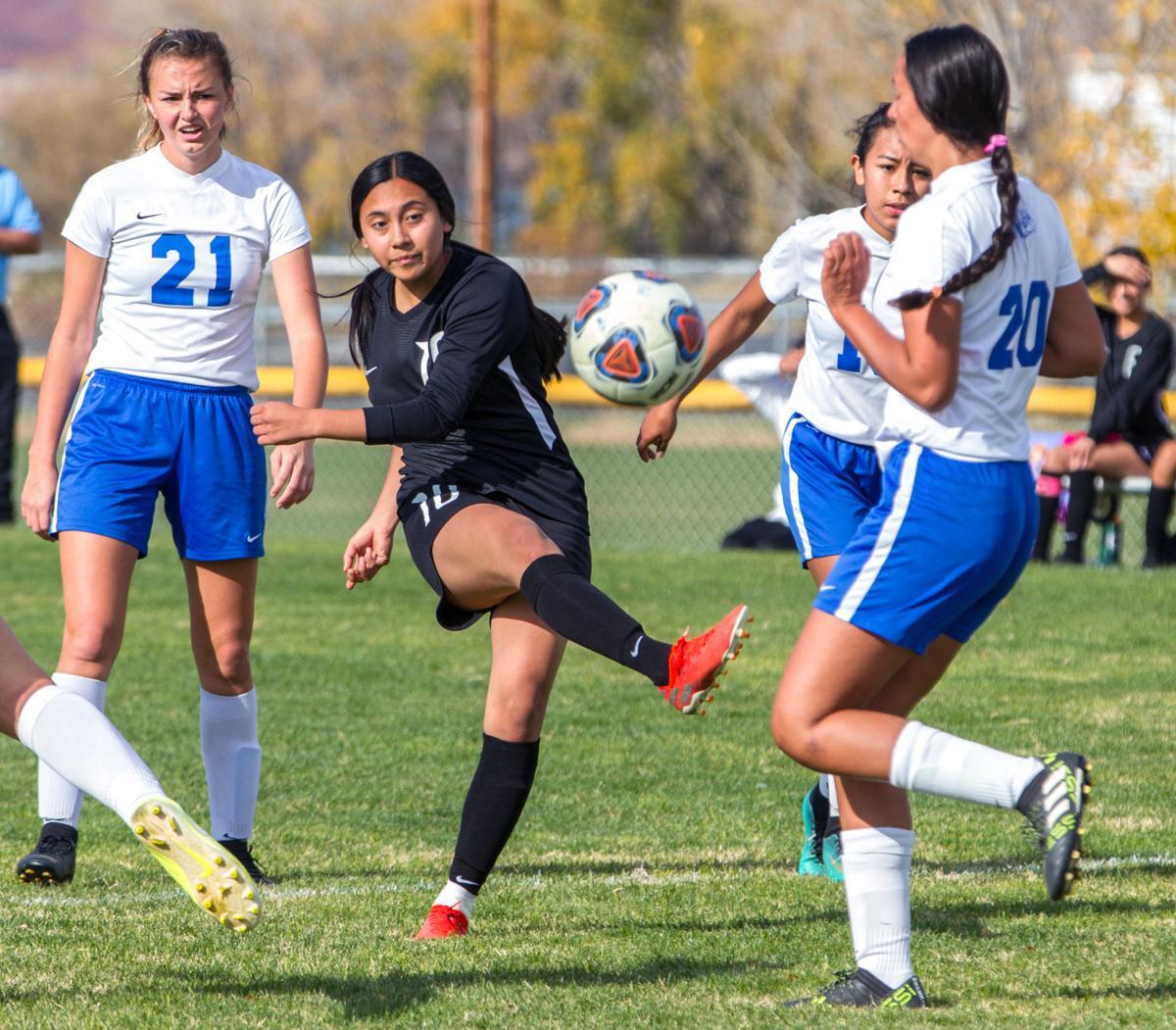 Girls soccer | Nyssa at Riverside