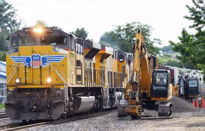 Railroad repairs spur noisier trains