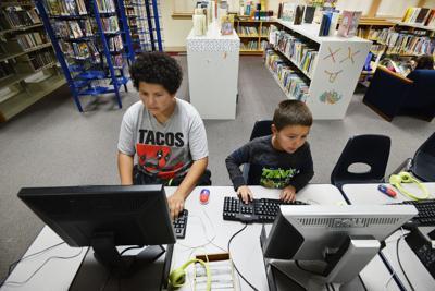 PENDLETON Library cracks open multi-year plan