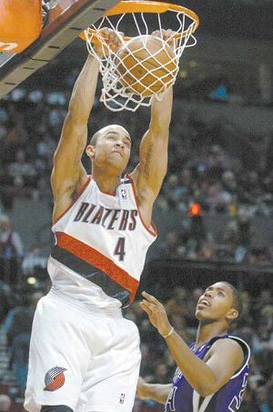 Blazers end skid at home