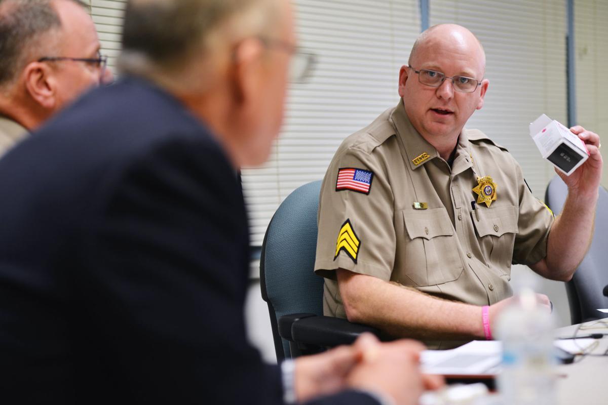 Walden talks opioids with county law enforcement