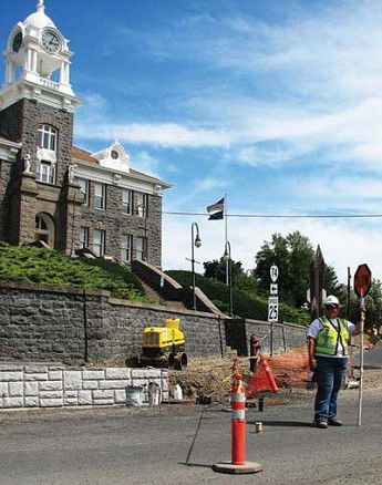 Highway 74 gets face lift