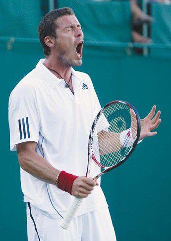 Safin bids farewell to Wimbledon