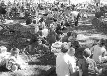 Round-Up Sunday offers community service