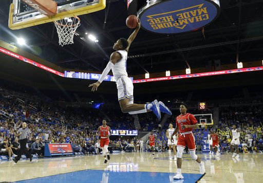 Moses leads No. 21 UCLA to 95-58 rout of Saint Francis (Pa.)