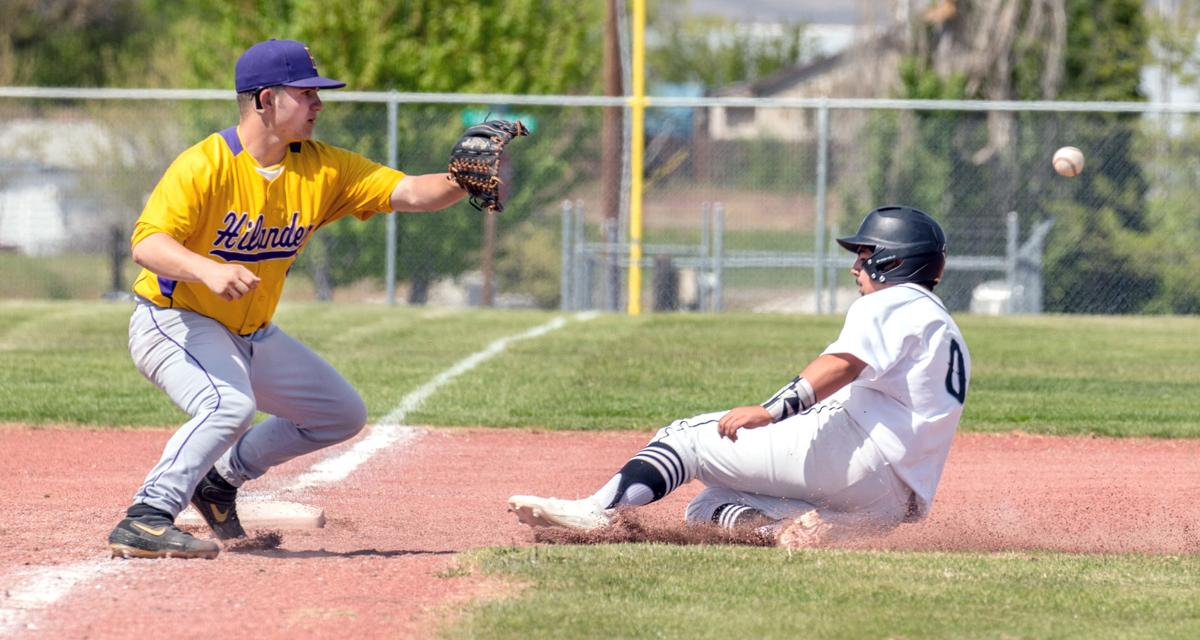 EOL baseball | Burns/Crane at Irrigon