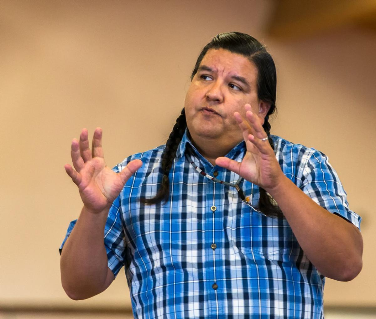 Area high schools get glimpse of tribal ways