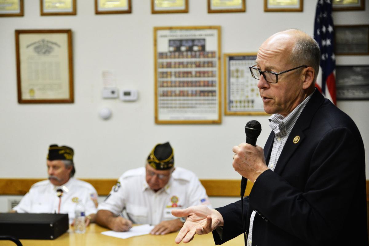 HERMISTON Walden talks troubled VA fixes