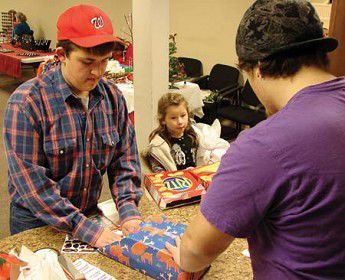 Kids fill all their shopping needs at this holiday bazaar