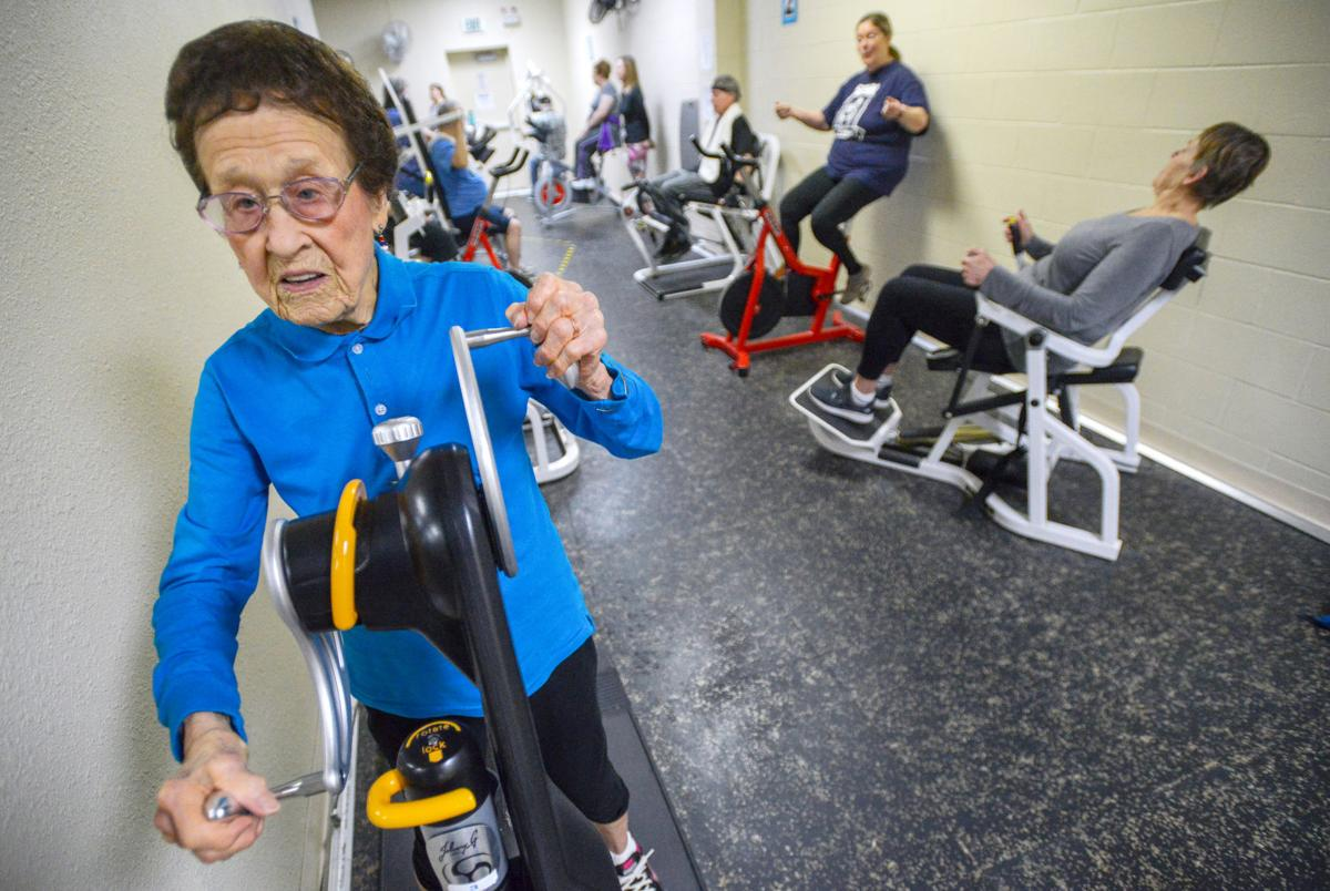 Centenarian work out