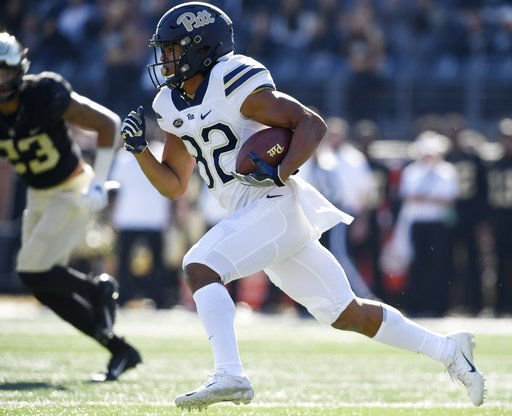 Pitt clinches 1st ACC title game berth by beating Wake 34-13
