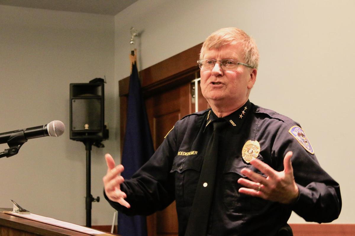 Milton-Freewater Police Chief Doug Boedigheimer